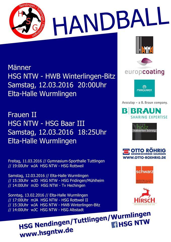 Handball, TV-Wurmlingen, HSGNTW