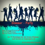 Turnverein Wurmlingen, TV-Wurmlingen, Wir sind Turnen, Sommer-Party